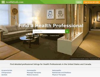 Thumbshot of Healthprofs.com