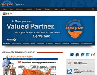 Thumbshot of Meyerdistributing.com