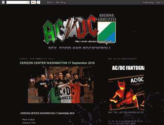 acdc-abruzzo.blogspot.com screenshot