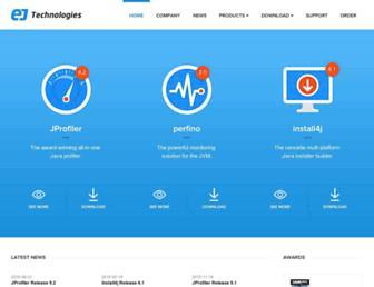 Thumbshot of Ej-technologies.com
