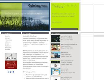 gehring-media.de screenshot