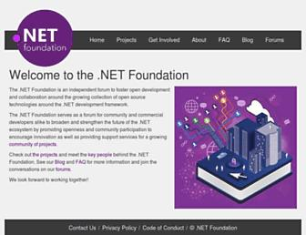 Thumbshot of Dotnetfoundation.org