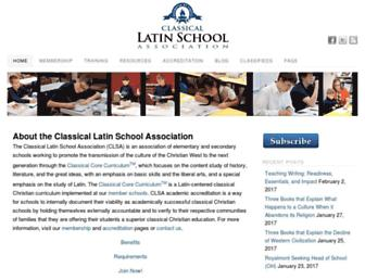 classicallatin.org screenshot