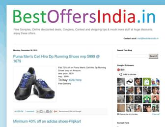 Thumbshot of Bestoffersindia.in