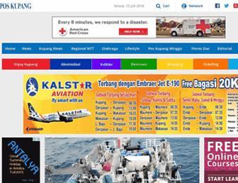 kupang.tribunnews.com screenshot