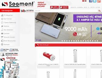 segment.com.tr screenshot