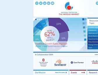 middlemarketcenter.org screenshot