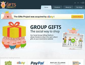 giftsproject.com screenshot