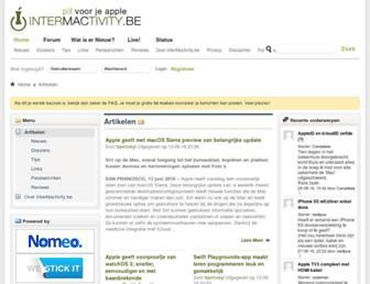 Main page screenshot of im.be