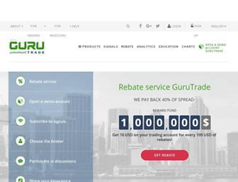 gurutrade.com screenshot