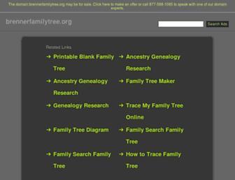 Thumbshot of Brennerfamilytree.org