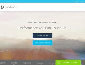 Thumbshot of Bandwidth.com