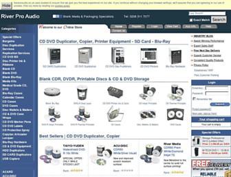 riverproaudio.co.uk screenshot