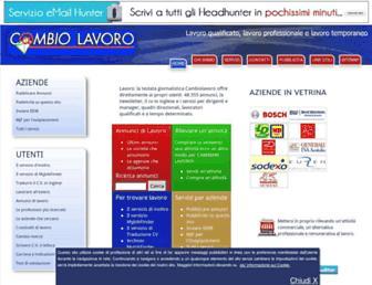 Thumbshot of Cambiolavoro.com
