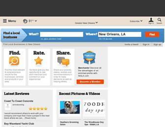 businessfinder.nola.com screenshot
