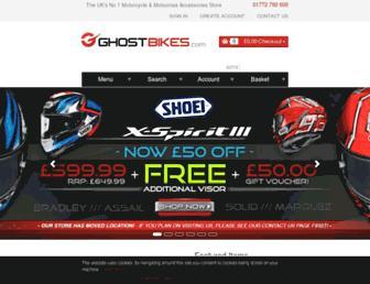 ghostbikes.com screenshot