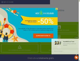 keyandcloud.com screenshot