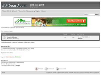 phoenixran.forumotion.com screenshot