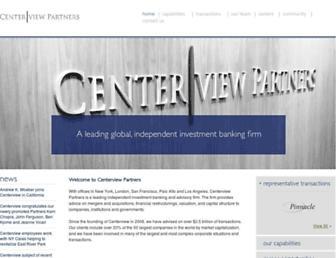 centerviewpartners.com screenshot