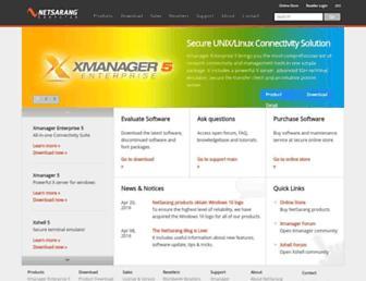 Thumbshot of Netsarang.com