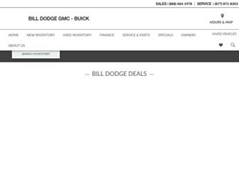 billdodgewestbrook.com screenshot