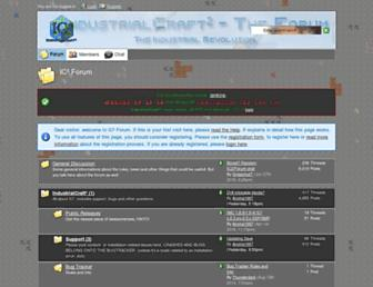 forum.industrial-craft.net screenshot