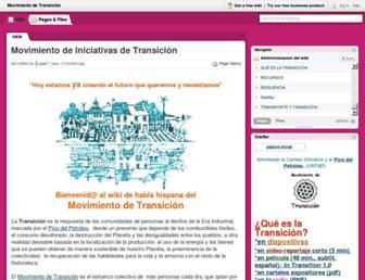 movimientotransicion.pbworks.com screenshot