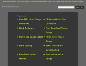 hindi2tech.com screenshot