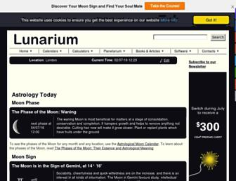 Thumbshot of Lunarium.co.uk