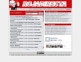 Thumbshot of Rojadirecta.me