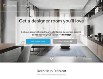 decorilla.com screenshot