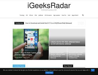igeeksradar.com screenshot