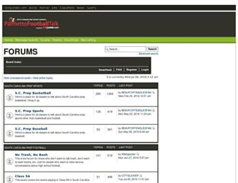 forum.palmettofootballtalk.com screenshot