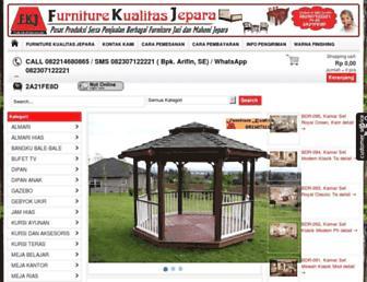 furniturekualitasjepara.com screenshot