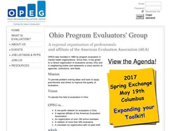 opeg.org screenshot