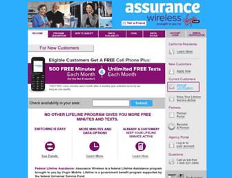 Thumbshot of Assurancewireless.com
