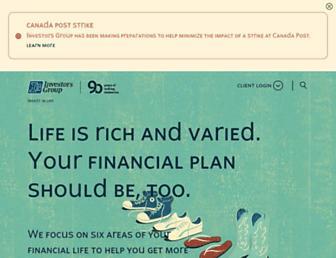 investorsgroup.com screenshot