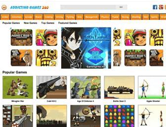Thumbshot of Addictinggames360.com