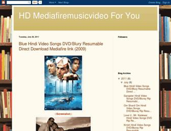 mymediafiremusicvideo.blogspot.com screenshot