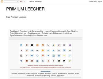 primium-leecher.blogspot.com screenshot