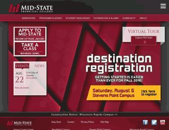 mstc.edu screenshot