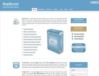 dupscout.com screenshot