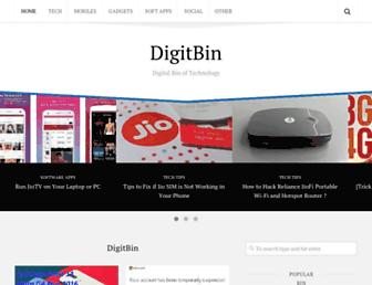 digitbin.com screenshot