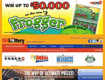 Thumbshot of Nhlottery.org