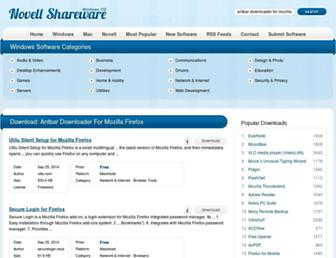 antbar-downloader-for-mozilla-firefox.windows.novellshareware.com screenshot