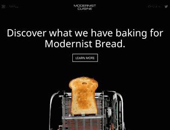 Thumbshot of Modernistcuisine.com