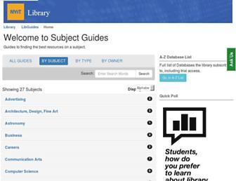 libguides.nyit.edu screenshot
