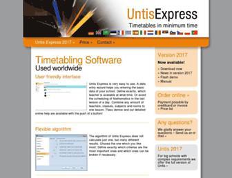 school-timetabling.com screenshot