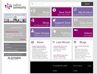 cadlinecommunity.co.uk screenshot
