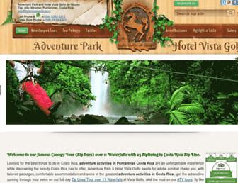 Thumbshot of Adventureparkcostarica.com